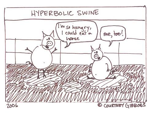 Hyperbolic Swine