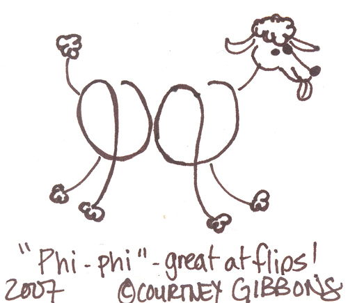 Phi-phi, Amazing Flipping Poodle!