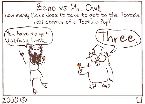 The Tootsie Pop Paradox
