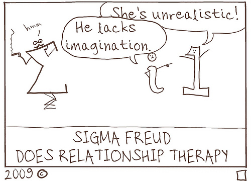 Sigma Freud does Relationship Therapy