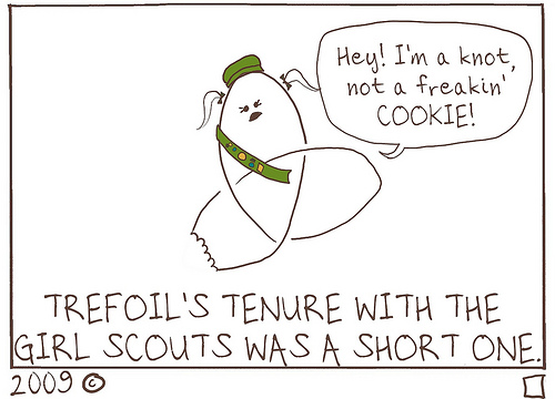 Trefoil Cookie – KNOT!