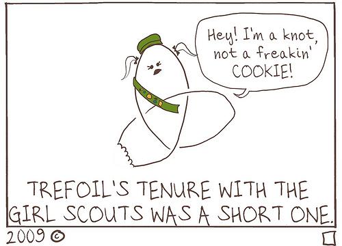 Trefoil Cookie – KNOT!