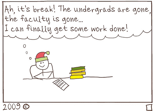 Happy Holidays, fellow grad students