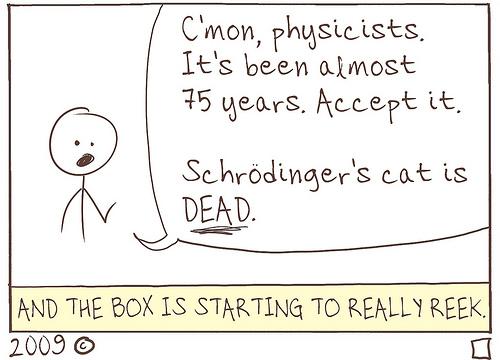 Schrodinger's Cat, RIP.